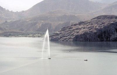 Odierni degassificatori nel lago Nyos